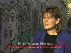 Stephanie Small, Free Arts for Abused Children of AZ